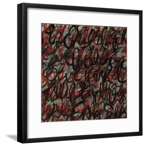 Decipher the Graffiti-Jolene Goodwin-Framed Art Print