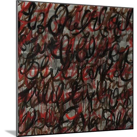 Decipher the Graffiti-Jolene Goodwin-Mounted Giclee Print