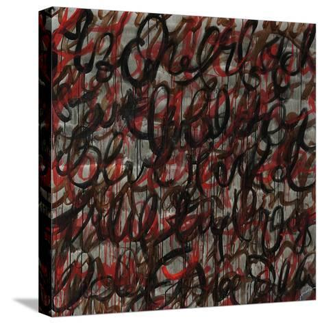 Decipher the Graffiti-Jolene Goodwin-Stretched Canvas Print