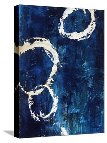 Interlocking I-Rikki Drotar-Stretched Canvas Print