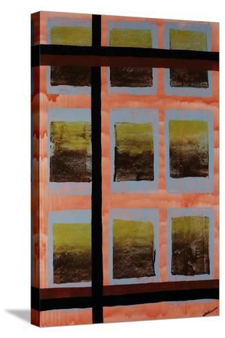 Wavering Line-Jolene Goodwin-Stretched Canvas Print