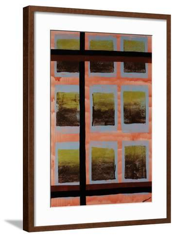 Wavering Line-Jolene Goodwin-Framed Art Print