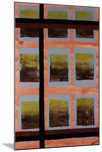 Wavering Line-Jolene Goodwin-Mounted Giclee Print