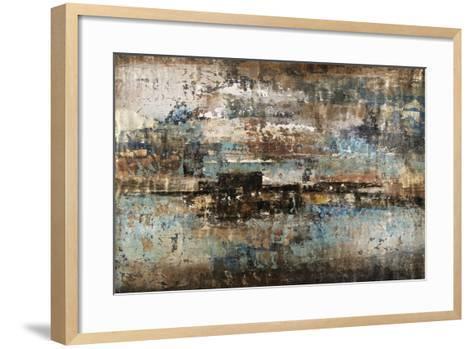 Gold Flecks-Alexys Henry-Framed Art Print