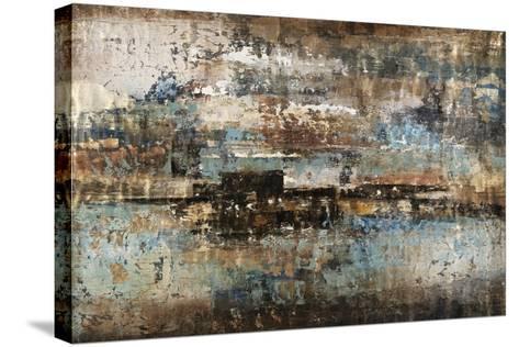 Gold Flecks-Alexys Henry-Stretched Canvas Print