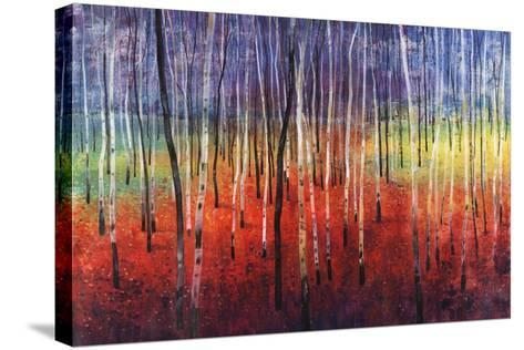 Shimmering Trees-Tim O'toole-Stretched Canvas Print