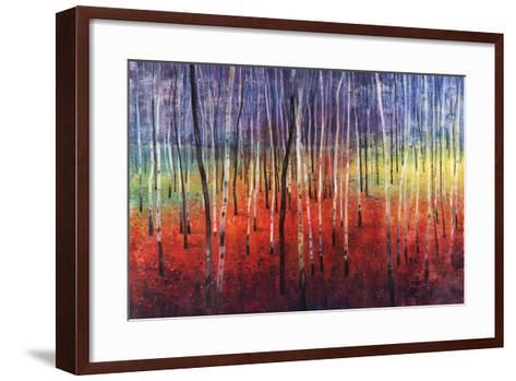 Shimmering Trees-Tim O'toole-Framed Art Print
