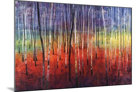 Shimmering Trees-Tim O'toole-Mounted Giclee Print