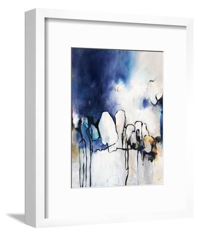 Conversationalist I-Rikki Drotar-Framed Art Print