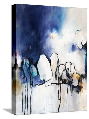 Conversationalist I-Rikki Drotar-Stretched Canvas Print