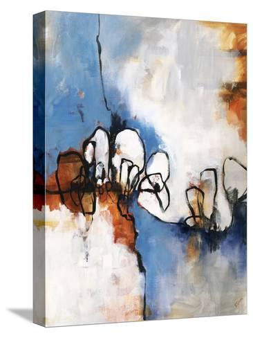 Conversationalist II-Rikki Drotar-Stretched Canvas Print
