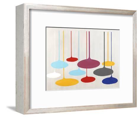 Thought Bubbles-Sydney Edmunds-Framed Art Print