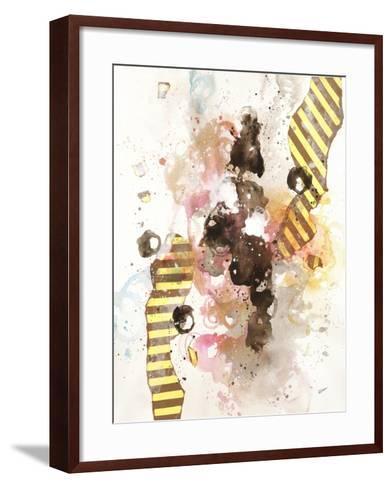 Convivial Circlet II-Rikki Drotar-Framed Art Print