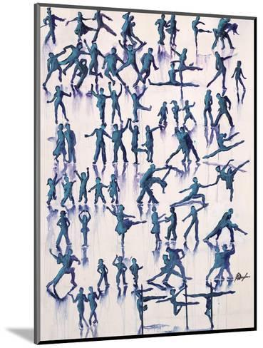 Lets Dance Everyday-Farrell Douglass-Mounted Giclee Print