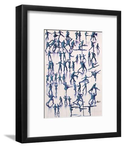 Lets Dance Everyday-Farrell Douglass-Framed Art Print