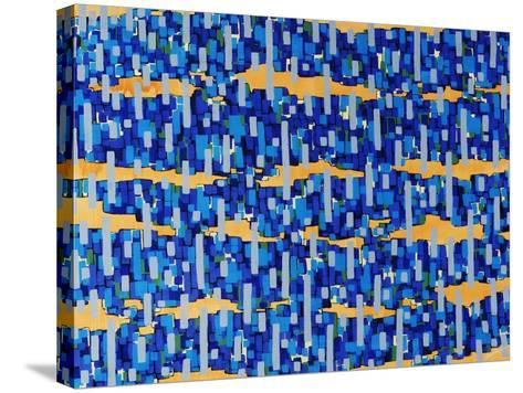 Puzzle Stack-Jolene Goodwin-Stretched Canvas Print