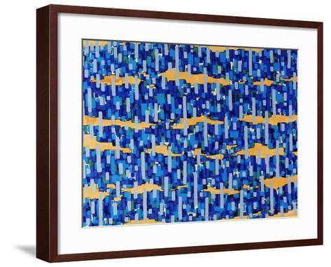 Puzzle Stack-Jolene Goodwin-Framed Art Print