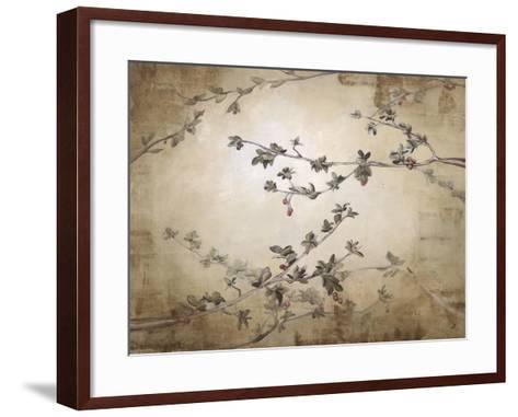 Ripe Cherry Tree-Kari Taylor-Framed Art Print