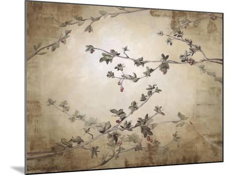 Ripe Cherry Tree-Kari Taylor-Mounted Giclee Print