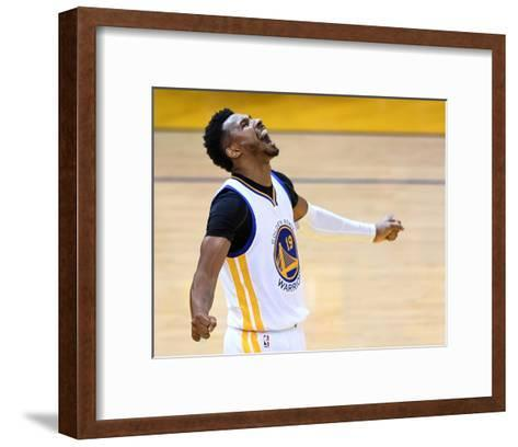 2016 NBA Finals - Game Two-Thearon W Henderson-Framed Art Print
