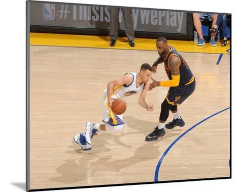 2016 NBA Finals - Game Two-Noah Graham-Mounted Photo