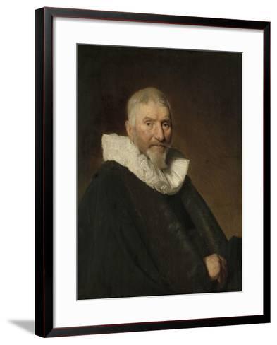 Portrait of Johan Van Schoterbosch-Johannes Cornelisz Verspronck-Framed Art Print