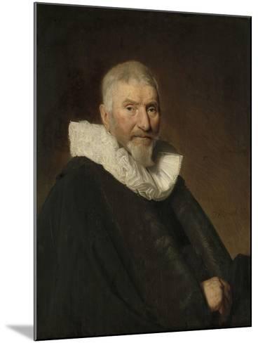 Portrait of Johan Van Schoterbosch-Johannes Cornelisz Verspronck-Mounted Art Print