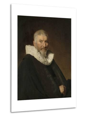 Portrait of Johan Van Schoterbosch-Johannes Cornelisz Verspronck-Metal Print