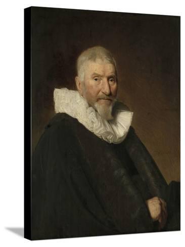 Portrait of Johan Van Schoterbosch-Johannes Cornelisz Verspronck-Stretched Canvas Print