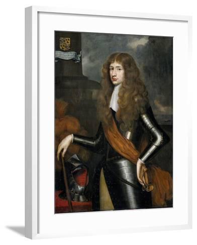 Portrait of Cornelis Van Aerssen, Lord of Sommelsdijk--Framed Art Print