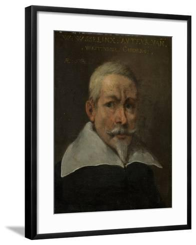 Portrait of Willem Usselinx, Merchant and Founder of the Dutch West Indies Company--Framed Art Print