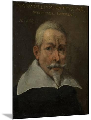 Portrait of Willem Usselinx, Merchant and Founder of the Dutch West Indies Company--Mounted Art Print