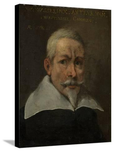 Portrait of Willem Usselinx, Merchant and Founder of the Dutch West Indies Company--Stretched Canvas Print