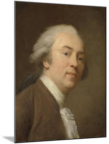 Self-Portrait-Johann Friedrich August Tischbein-Mounted Art Print