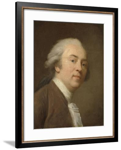 Self-Portrait-Johann Friedrich August Tischbein-Framed Art Print