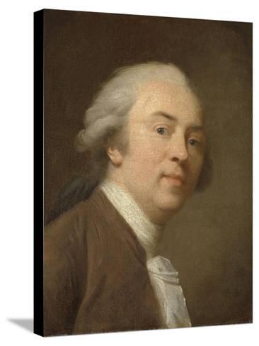 Self-Portrait-Johann Friedrich August Tischbein-Stretched Canvas Print