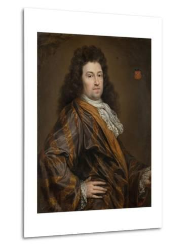 Portrait of Francois Leydecker, Delegate to the Court of Audit for Zeeland--Metal Print