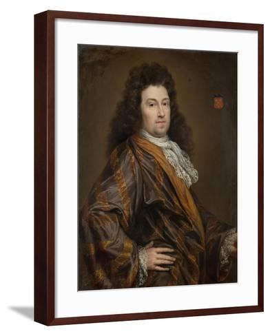 Portrait of Francois Leydecker, Delegate to the Court of Audit for Zeeland--Framed Art Print