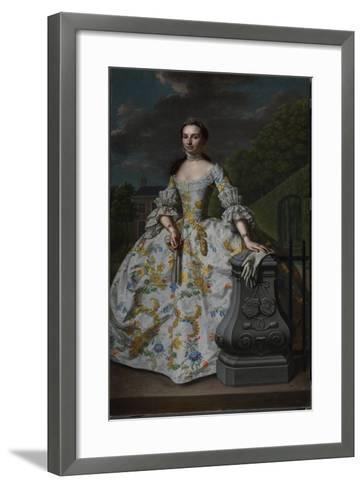 Portrait of Charlotte Beatrix Strick Van Linschoten-Mattheus Verheyden-Framed Art Print