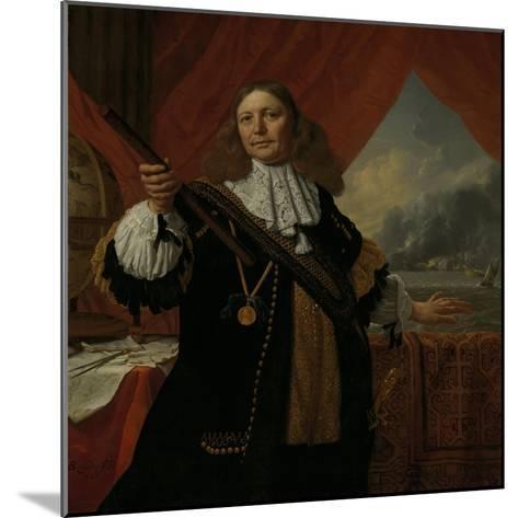Portrait of Vice-Admiral Johan De Liefde--Mounted Art Print