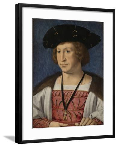 Portrait of Floris Van Egmond, Count of Buren En Leerdam-Jan Gossaert-Framed Art Print