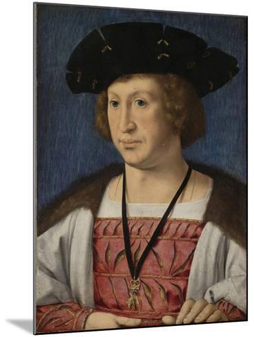Portrait of Floris Van Egmond, Count of Buren En Leerdam-Jan Gossaert-Mounted Art Print