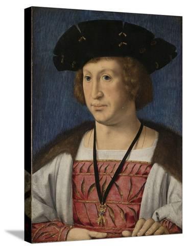 Portrait of Floris Van Egmond, Count of Buren En Leerdam-Jan Gossaert-Stretched Canvas Print