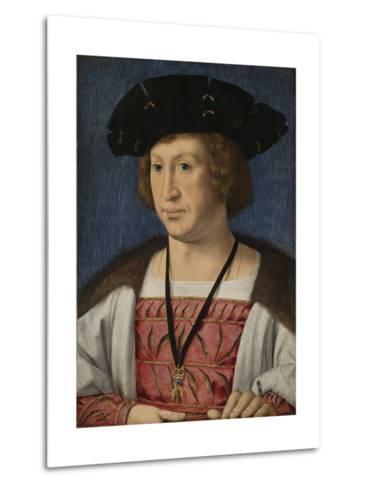 Portrait of Floris Van Egmond, Count of Buren En Leerdam-Jan Gossaert-Metal Print