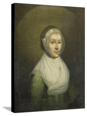 Portrait of Christina Sebilla Charlotte Bakhuizen-Benjamin Wolff-Stretched Canvas Print