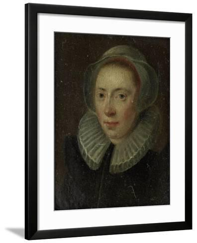 Portrait of a Young Woman--Framed Art Print
