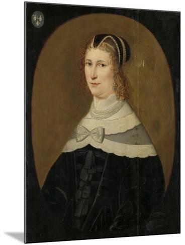Portrait of a Woman, Called Theodora De Visscher--Mounted Art Print