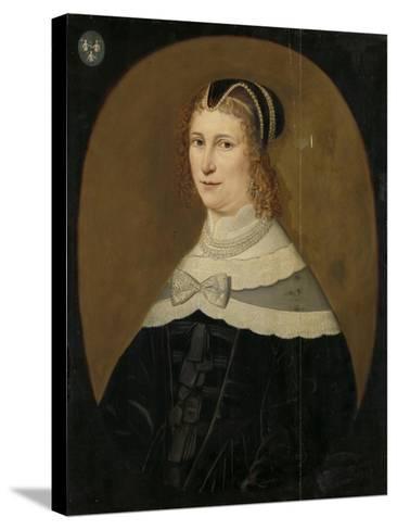 Portrait of a Woman, Called Theodora De Visscher--Stretched Canvas Print