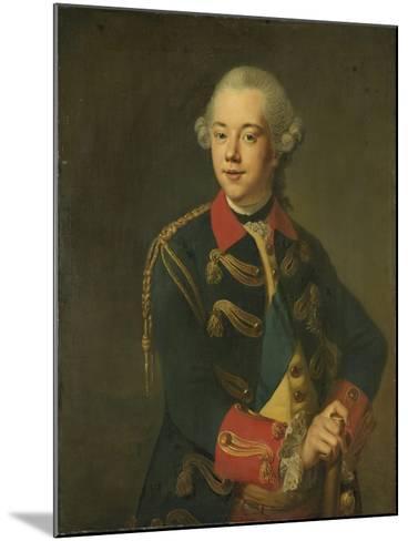 Portrait of William V, Prince of Orange-Nassau-Johann Georg Ziesenis-Mounted Art Print