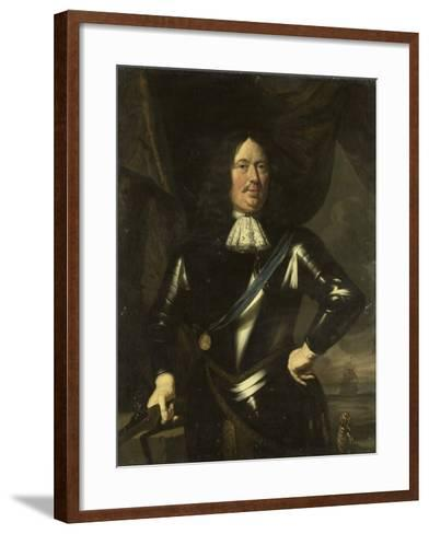 Portrait of an Admiral, Possibly Adriaen Banckert, Vice-Admiral of Zeeland--Framed Art Print